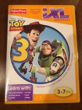 FISHER-PRICE iXL Learning System CD TOY STORY 3 - 6 ways to play
