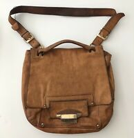 Kooba Tote Shoulder Bag Brown Leather Hobo
