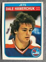 Dale Hawerchuk 1982-83 O-Pee-Chee Rookie RC #380 Winnipeg Jets Hall of Fame! HOF