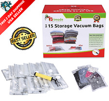 15 Vacuum Bags Space Saving Storage Bags for Clothes Jumbo Large Free Shipping