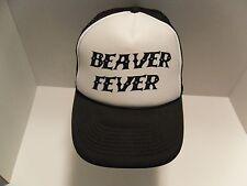 c5bcd9410cb Beaver Fever Trucker Hat Cap Snapback Mesh Classic Retro Hipster Unisex