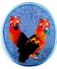 Applikation zum Aufbügeln Bügelbild  3-942 Papageien
