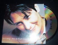 KD Lang The Air That I Breathe Australian Card Sleeve CD Single