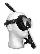Scubapro Trinidad Adult Combo Msk w/ Dry Snorkel Package Snorkeling Set Black