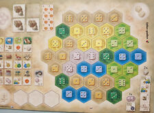 Castles of Burgundy Expansion - New Player Boards, Brand New with English Rules