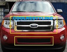 For 2008 2009 2010 2011 2012 Ford Escape Black Billet Grille Grill Combo Inserts