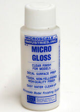 Micro Scale Micro GLOSS MI-4 Acrylic Clear Finish For Models / Hobby / Crafts