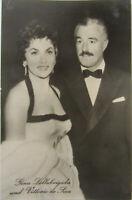 Film Kino Bühne TV Schauspieler Vittorio De Sica & Gina Lollobrigida ca. 1950/60