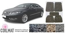 2008-Current Volkswagen Passat CC TDI FSI - Customised PVC Coil Car Floor Mats