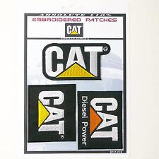 CAT / CATERPILLAR DIESEL POWER Iron-On Patch Super Set #116 - FREE POSTAGE!