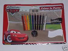 Disney pixar cars couleur en poster (A4)