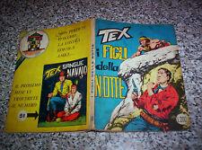 TEX GIGANTE N.50 ORIGINALE 1°EDIZIONE MG(con continua)200 lire TIPO ZAGOR ARALDO