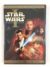 Star Wars I La menace fantôme DVD Neuf