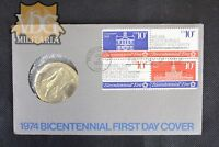 John Adams 1975 American Revolution Bicentennial First Day Cover-Price Per One