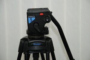 vinten pro 5 Protouch pro video head with vinten protuch 525 mvb two stage legs