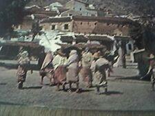 postcard unused xauen campesinas marruecos