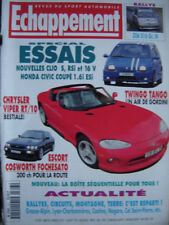 echappement 1994 RENAULT CLIO RSi + 16V / PEUGEOT 306 S16 GR.N / CHRYSLER VIPER