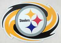 PITTSBURGH STEELERS NFL LICENSED CAR / TRUCK MAGNET BRIGHT COLORS BIG NEW