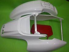 Yamaha TT600R TT600RE TT Heckfender Schutzblech weiß Fender Lampenmaske rot
