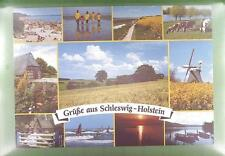 CPA Germany Schleswig Holstein Windmill Moulin a Vent Windmühle Wiatrak w42