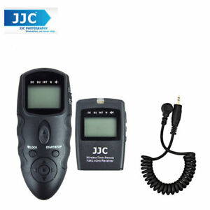 JJC WT-868 with Cable-K LCD Timer Remote for Camera Fujifilm X-E1 X-S1