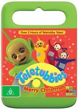 TELETUBBIES - Merry Christmas DVD ABC KIDS CHRISTMAS MOVIES OVER 2 HOURS R4