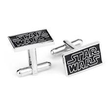 Quality Cufflinks Star Wars Rectangular Cuff links silver Colour French Shirt