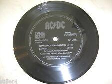 AC/DC Shake Your Foundations/Danger *METAL HAMMER FLEXI SINGLE*