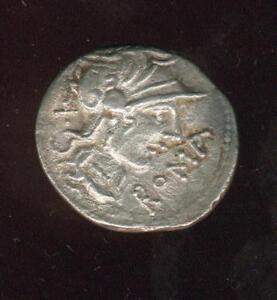 République romaine. Cn. Domitius Ahenobarbus (vers 116-115 av. J-C). Denier