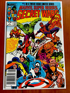 Marvel Super Heroes Secret Wars #1 NM+ (1984) Ultra High Grade Newsstand Copy!