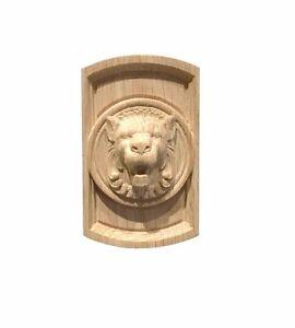 Roseta rectangular de Cabeza de León//Aplique