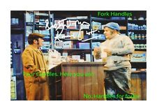 The Two Ronnies fork handles A4 reproduction autographs poster choice of frame