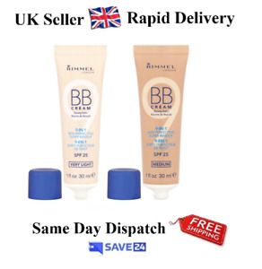 Rimmel BB Cream 9 In 1 Make-Up SPF 25 30ml– Choose Your Shade