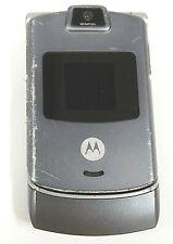 Motorola Razr / Razor V3c - Gray and Silver ( Verizon ) Cellular Flip Phone