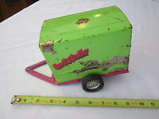 VINTAGE NYLINT TOYS PURPLE & GREEN SPORT O TRAILER - PRESSED STEEL