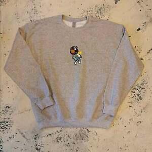 Kanye West sweatshirt. Graduation Bear embroidery. All sizes.