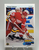 Sergei Federov Rookie Card #525 - 1990-91 Upper Deck Hockey - Young Guns