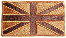 UNION JACK CLOTH PATCH Great Britain iron on badge Team GB Gold UK national flag