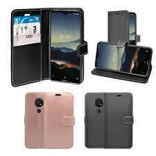 Case For Nokia 7.2 Wallet Flip PU Leather In Various Colours Cover