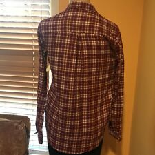 Holister Womens Size S Long Sleeve Button Down
