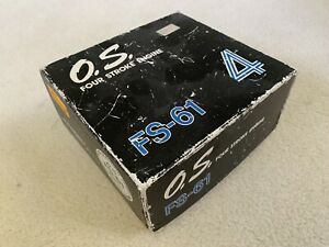 OS FS-61 4 Stroke RC Engine Unused In Original Box