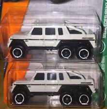 Lot Of 2 Mercedes Matchbox-Benz G63 AMG 6x6 New In Package Die Cast 1:64 2007