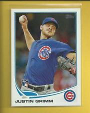 Justin Grimm RC 2013 Topps Update Series Rookie Card # US17 Chicago Cubs MLB