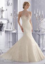 Mori Lee Wedding Dress 2675 Brand New Size 12 Ivory