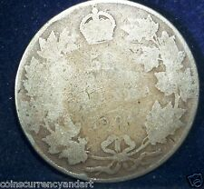 Canada KEY DATE  Fifty Cents 1904 .LOW MINTAGE(60,000)