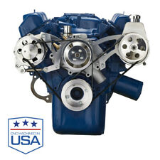 Ford 351 Cleveland Serpentine System Power Steering Alternator 351C V8