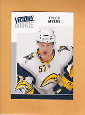 TYLER MYERS 2009 10 UPPER DECK VICTORY ROOKIE # 303 SABRES RC ** FREE SHIPPING *