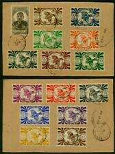 New Caledonia 1946 regis cards/Kagu Bird set of 14