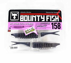 Jackall Soft Lure Bounty Fish 158 Cover Side Shad (0224)