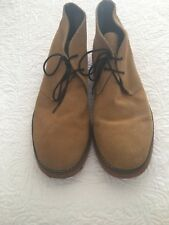 Rivers Men's Lace Up Boot Mustard Colour Suede  Size 11 1/2